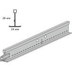 Подвесная система Knauf ARMSTRONG Bajkal Zn рейка поперечная 600x26 мм белая