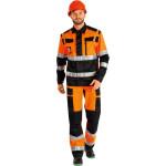 Костюм Квант флуоресцентный оранжевый с черным размер 48-50 рост 170-176