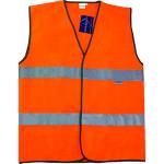 Жилет сигнальный Габарит флуоресцентный оранжевый размер 56-58 рост 182-188