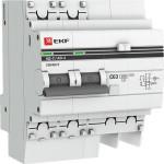 Дифференциальный автомат EKF АД-2 PROxima 2 Р AC-C 25 А 30 мА 270 В 4.5 кА