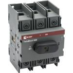 Рубильник EKF PROxima TwinBlock 100 A 3P c рукояткой управления