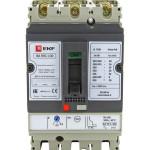 Выключатель автоматический EKF PROxima ВА-99C Compact NS 100/100 А 3P 36 кА