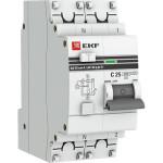 Дифференциальный автомат EKF АД-32 PROxima 1 PN AC-C 25 А 10 мА 270 В 4.5 кА