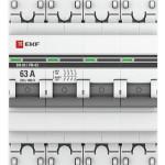 Выключатель нагрузки EKF PROxima 4P 63 А ВН-63