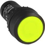 Кнопка EKF PROxima SW2C-11 NO NC возвратная желтая