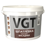Шпатлевка VGT акриловая фасадная 18 кг