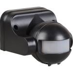 Датчик движения IEK ДД-009 1100 Вт 180 градусов 12 м IP44 черный