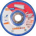 Диск зачистной Dexter по нержавеющей стали 125x6x22 мм