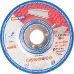 Диск зачистной Dexter по нержавеющей стали 115x6x22 мм