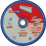 Диск зачистной Dexter по нержавеющей стали 230x6x22.2 мм