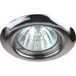 Точечный светильник Эра ST3 CH штампованный под лампу MR16 50 Вт хром C0043804