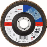 Круг угловой лепестковый Bosch Standard for Metal 22.23 мм K40 2608603716