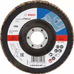 Круг угловой лепестковый Bosch Standard for Metal 22.23 мм K60 2608603657