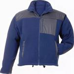 Куртка флисовая синяя L