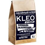 Клей для виниловых, флизелиновых и бумажных обоев Kleo Profi мешок 5 кг