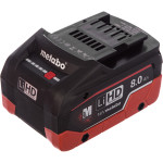 Аккумулятор Metabo LiHD 8 Ач 18 В Air Cooled 625369000