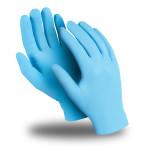 Перчатки защитные Manipula Specialist ЭКСПЕРТ нитрил 0.08 мм голубые размер 7, 50 шт.