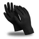 Перчатки защитные Manipula Specialist ЭКСПЕРТ ТЕХНО нитрил 0.17 мм черные размер 7, 25 шт.