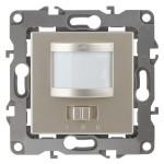 Датчик движения 2-проводной Эра 180-240В 200Вт IP20 шампань СУ Б0031254