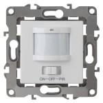 Датчик движения Эра 12-4104-01 3-проводной 180-250В 400 Вт IP20 белый Б0031261