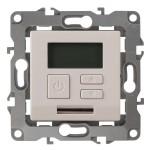 Терморегулятор универс. 230В-Imax16А, IP20, Эра12, слоновая кость СУ