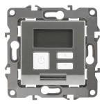 Терморегулятор Эра 12-4111-03 универсальный 230 В 16 А IP20 алюминий Б0031273