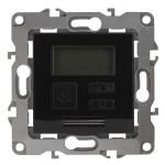 Терморегулятор Эра 12-4111-06 универсальный 230 В 16 А IP20 черный