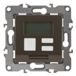 Терморегулятор универсальный Эра 230В-Imax16А IP20 бронза СУ Б0031278