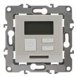 Терморегулятор Эра 12-4111-15 универсальный 230 В 16 А IP20 перламутр