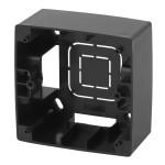 Коробка накладного монтажа Эра 12 1 пост черный