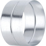 Ниппель ф100 мм оцинкованная сталь 0.5 мм