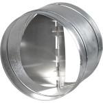 Клапан обратный круглого сечения 100 мм