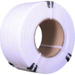 Лента полипропиленовая для ручной упаковки 15x1 мм 1200 м белая