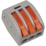 Клемма IEK 222-413 450 В 32 А 3 провода 0.08-4 мм2 серый