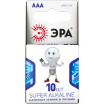Батарейка Эра ААА упаковка, 10 шт. Б0002728