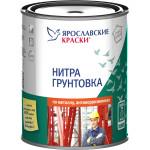 Нитрогрунтовка Ярославские краски серая 0.7 кг
