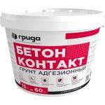 Грунт адгезионный Грида Бетон контакт ЭКО розовый 15 кг