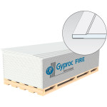 Гипсокартон Gyproc Файер УК 2500x1200x12.5 мм