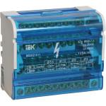 Шины IEK на DIN-рейку в корпусе кросс-модуль 3L+PEN 4x11 мм