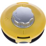 Катушка для триммера полуавтоматическая гайка М10х1.25 мм левая алюминиевая Kronwerk 390х72 мм