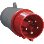 Вилка переносная IEK ССИ-015 3Р+РЕ+N 16А 380-415В IP44
