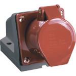 Розетка IEK ССИ-124 стационарная 3P+PE 380-415 В 32 А IP44