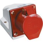 Розетка IEK ССИ-114 стационарная 3P+PE 380-415 В 16 А IP44