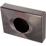 Держатель гигиенических пакетов Nofer 04049.B.2 подвесной пластик серебристый 138x100x28 мм