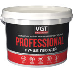 Клей ремонтно-монтажный VGT Professional универсальный белый 6 кг