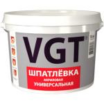 Шпатлевка универсальная VGT для наружных и внутренних работ влагостойкая 28 кг