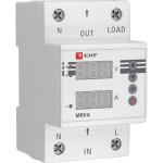 Реле напряжения и тока с дисплеем EKF PROxima MRVA 25A
