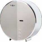 Диспенсер для туалетной бумаги из нержавеющей стали Nofer industrial evo глянцевый 268х265х135 05046.B