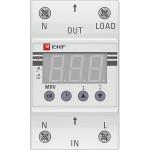 Реле напряжения с дисплеем EKF PROxima MRV 50A