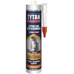 Герметик cиликатный TYTAN Professional для каминов черный 280 мл